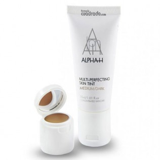 Alpha-H Multi-perfecting Skin Tint Medium:dark (Dermaceutic) - Parafarmacia Online Farmacia Collado - Oviedo, Asturias